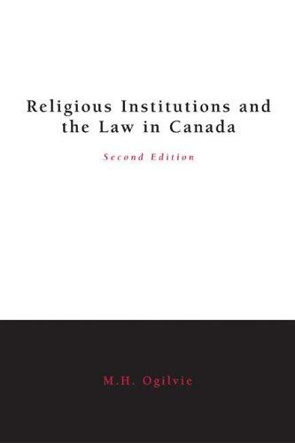 Download Religious institutions and the law in Canada