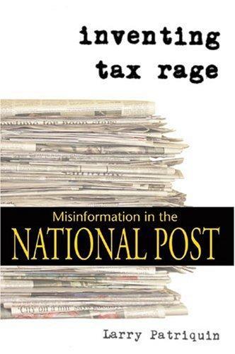 Inventing tax rage