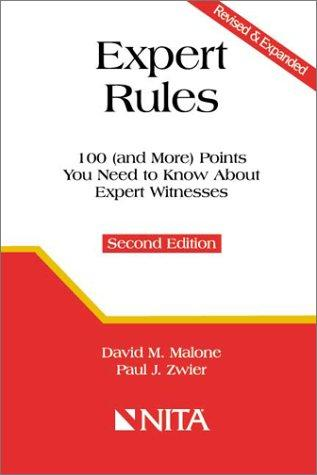Expert rules