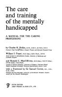 Download Care and Training of the Mentally Handicapped