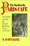 Download The world of the Paris café