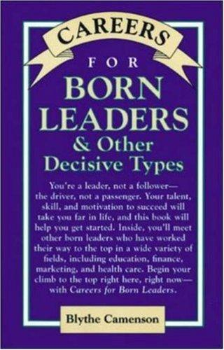 Download Careers for born leaders & other decisive types