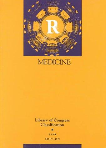 Download Library of Congress classification. R. Medicine