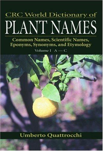 Download CRC World Dictionary of Plant Names