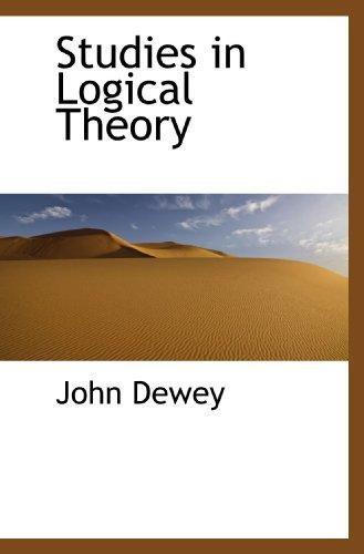 Download Studies in Logical Theory