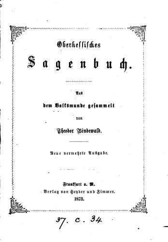 Download Oberhessisches Sagenbuch