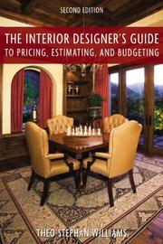 The Interior Designer's Guide To Pricing, Estimating, And Budgeting PDF Download