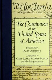 Cover of: The Constitution of the United States of America | United States