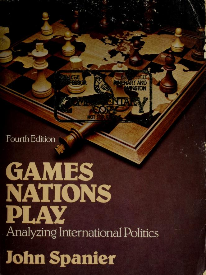 Gamesnations play by John Spanier