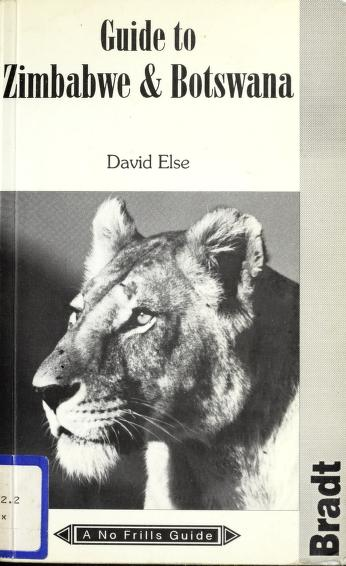 The no frills guide to Zimbabwe & Botswana by David Else