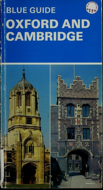 Cover of: Oxford and Cambridge | Mercia Mason