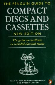 Cover of: The Penguin guide to compact discs and cassettes | Ivan March