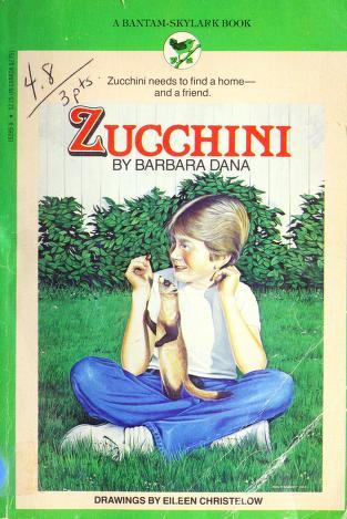 Cover of: Zucchini | Barbara Dana