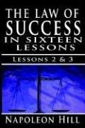 The Law of Success , Volume II & III by Napoleon Hill
