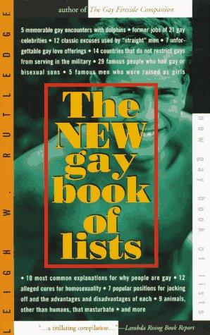 The new gay book of lists by Leigh W. Rutledge