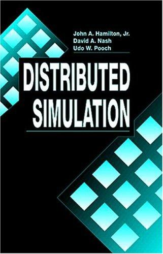 Distributed simulation by Hamilton, John A.