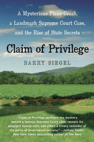 Claim of Privilege