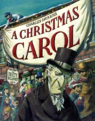 A Christmas carol by by Charles Dickens ; art by Brett Helquist ; [abridged by Josh Greenhut].