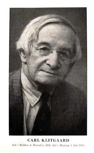 Photo of Carl Klitgaard