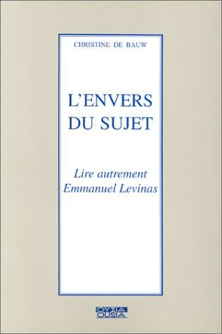 L' envers du sujet by Christine de Bauw