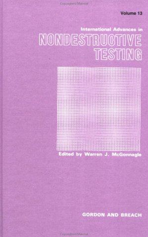 International Advances in Nondestructive Testing