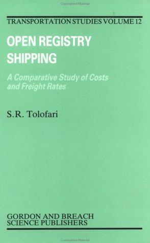 Open registry shipping by S. R. Tolofari